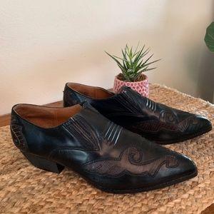 Vintage 90s 9&Co. Short Cowboy Boots 7.5